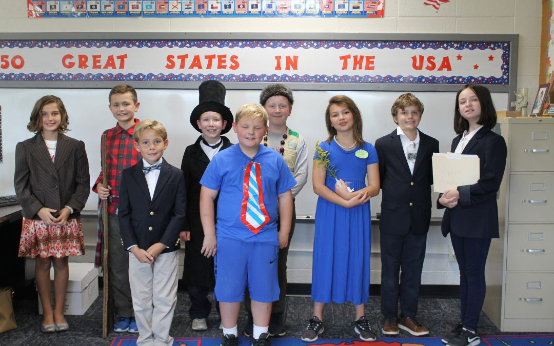 Famous Kentuckians in 4th Grade